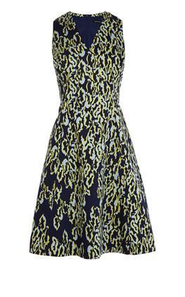 Платье с леопардовым принтом Карен Миллен (Karen Millen)