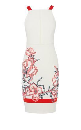 Платье с цветочной вышивкой Карен Миллен (Karen Millen)