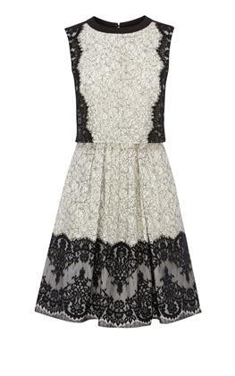 Платье с пышной юбкой Карен Миллен (Karen Millen)